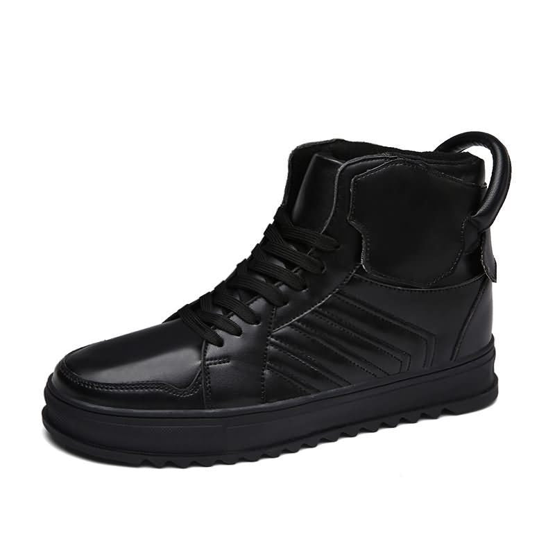 Men Sneakers Skateboarding Shoes High Top Breathable Male Skate Sport Shoes Ankle Boots (1 pair)