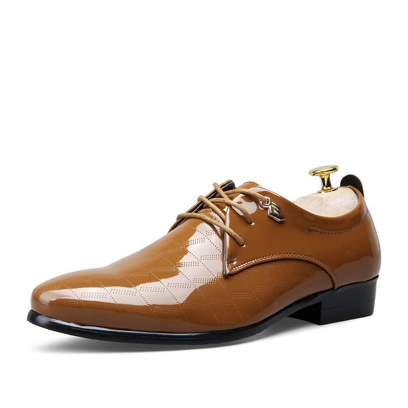 Man Pointed-Toe Casual Shoes