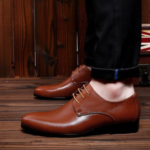 Top Quality Men Business Casual Leather Shoes