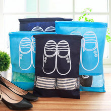 Drawstring Non-Woven Bag Pocket Shoes Storage Bag Travel Portable Luggage Sorting Bags
