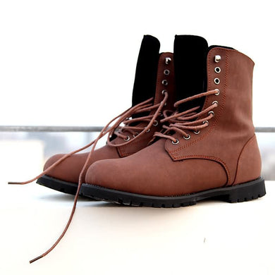 Men Winter Boots Genuine Leather