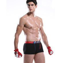 Colorful Waist Band Elastic Men's Comfortable Boxer Brief