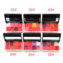 LOVE ALPHA Lip Gloss Jelly Lip Colors Pallette 8 Colors Moisture Lip Gloss