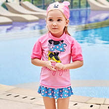 Kids Swimwear For Girls Child Girl Children's Swimming Suit 2018 New Children Big Cute 5818 Biquini Infantil Menina Maillot