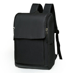 Computer Package Male Han Edition Simple Schoolbag Male Leisure High School High School Fashion Trend Backpack-Travel Backpack