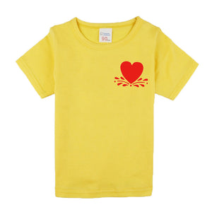 Kids Clothing Children Short Sleeve Solid Color Tees Baby Boys T-Shirts For Children Outwear