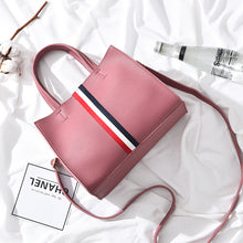 Three-color Ribbon Decorated Women's Shoulder Bag Handbag