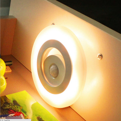 Human Sensing Infrared Induction LED Lamp Night Light for Bedroom