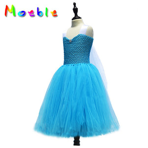 Sapphire Fluffy Jumpsuite Back Bowtie Detail Lace Dress