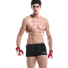 Pattern Printed Men's Sports Boxer Briefs