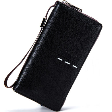 Leather Wallet Multi-functional Zipper Wallet
