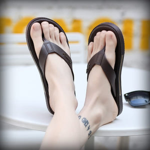 Summer Slippers Flip Flop Men Outdoor For Casual Walking Cool Slippers (1 pair)