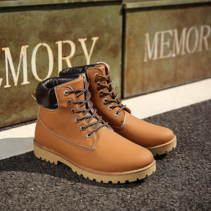 Men And Women Martin Boots Short Boots Military Boots With Men's Shoes In The Boots Of Korean Desert Boots