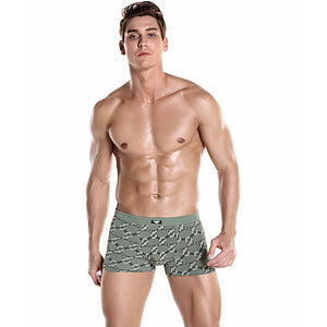 Comfortable and Elastic Men's Boxer Brief Underwear