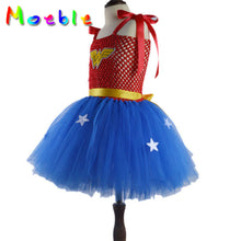 Wonder Woman Thick Straps One Piece Costumes for Girls
