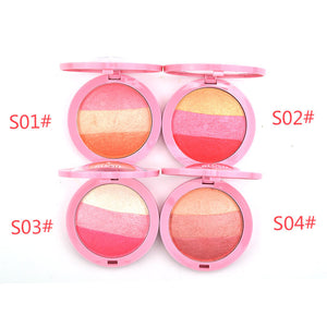 By Nanda Ice Cream 3 Colors Best Shades Blusher