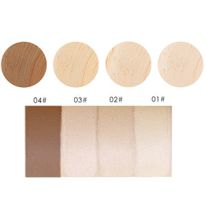 MIXIU Skin Fit Foundation Stick with Brush End