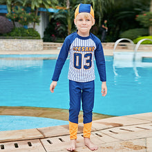 Brand Swimsuit Boy Two Pieces Rash Guards Kids Toddler Boys Swimwear Sport Beach Wear Sunsuit Children Swimsuits