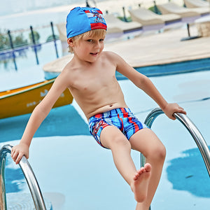 Boys Swimwear 6Color Trunks Cartoon Print Infant Swimsuit Toddler Kids Bathing Clothes for Summer Party Beach