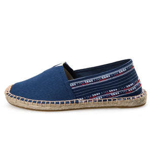Women's Color Blocks  Breathable Slip-on Shoes