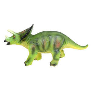 Big Size Triceratops Rubber Dinosaur Model for Children