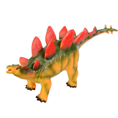 Big Size Stegosaurus Rubber Dinosaur Model for Children