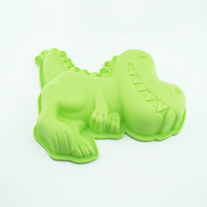 Silicone Animal Cake Mold Four-Piece Set DIY Baking Appliances Owl Unicorn Dinosaur Butterfly