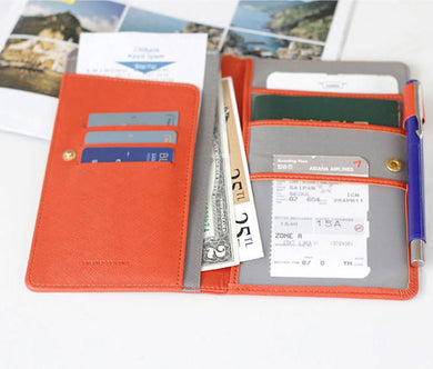 Passport Card Pack Multi Function Anti Magnetic Card Package Card Holder For Women