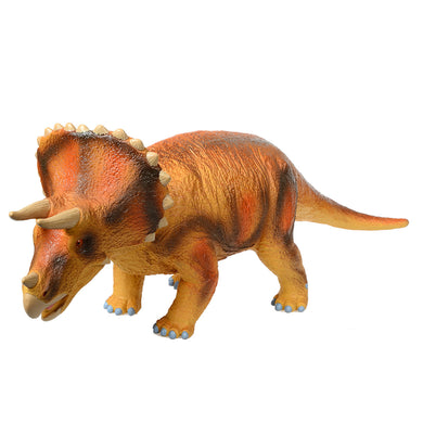 Big Size Big Triceratops Rubber Model Jurassic Dinosaur Toys for Children