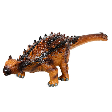 Rubber Jurassic Dinosaur Ankylosaur Big Size Toys for Children