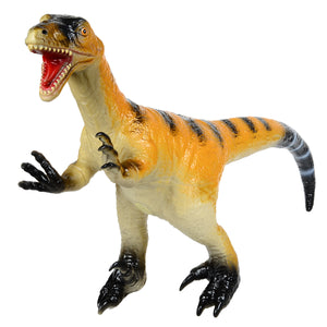 Jurassic Dinosaur Velociraptor Rubber Toy Models for Children