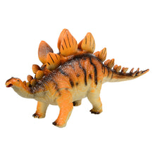 Big Size Rubber Jurassic Dinosaur Stegosaurus Rubber Toys for Children