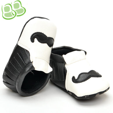 Tassel Beard Shoes for Baby Boys 0-1-year-old Toddler Shoes