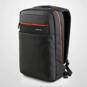 15 inches Capacity Color Contrast Detailed Zip Laptop Bags