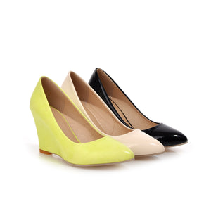 Ladies Hot Fashion Wedge Platform Pumps