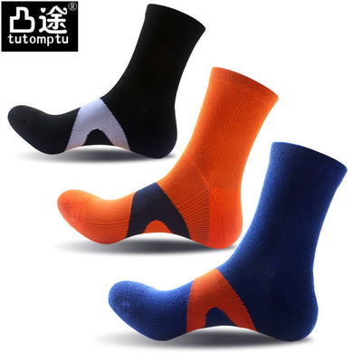 Midi Calf Length Socks Climbing and Outdoor Sports Socks for Men (1 pair)