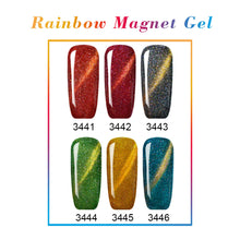 GALAXY Magnet Cat Eye Nail Polish Gel 6 Colors Optional