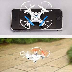 810 Super Mini Handheld 2.4G Stunt Four-Axis Aircraft Remote Control Uav With LED Lamp Model Toy