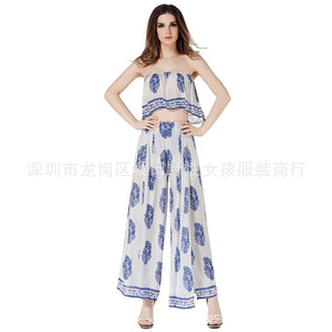 Two-pieces chiffon base bilaterally positioned long skirt female accessories