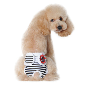 High Quality Cute Pet Dog Panty In Season Sanitary Physiological Pants for Dogs