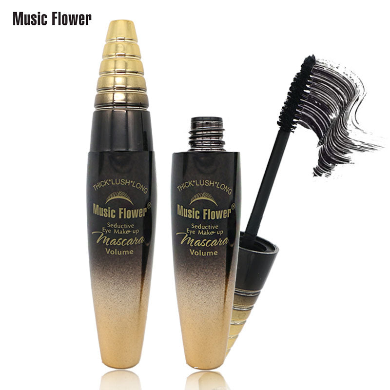 MUSIC FLOWER 3D Mascara Waterproof Bushy Eyelashes Nutrition Mascara