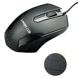 Laptop mouse USB optical wired mouse notebook home office mouse