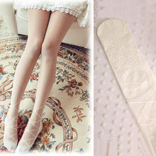 Hot Sale Sweet Student Ultra-Thin Jacquard Tread Stockings(1 pair)
