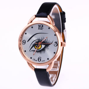 Big One Eye fashionable female Quartz Watch