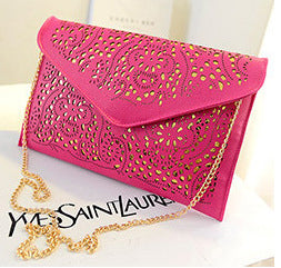 Hollow Up Design Square Bag Chain Bag for Women