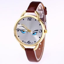 Blue Eyes Thin Belt Female Watch