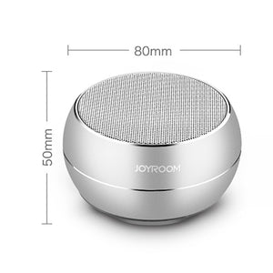 The New Portable Mini Steel Bluetooth Speaker Multi-Function Wireless Low-Pitched Sound Box