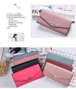 Female Elegant Sweet Purse with Cure Button