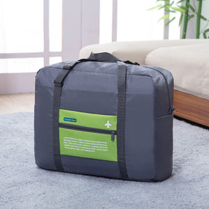 Large-Capacity Clothing Storage Bag Folding Trolley Travel Package