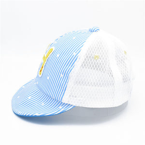 Baby Hat Summer New Boys And Girls Net Hat Tide Baby Sun Protective Cap Children's Thin Cap